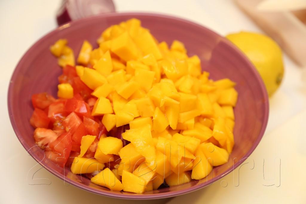 Куриные отбивные с манговой сальсой 4