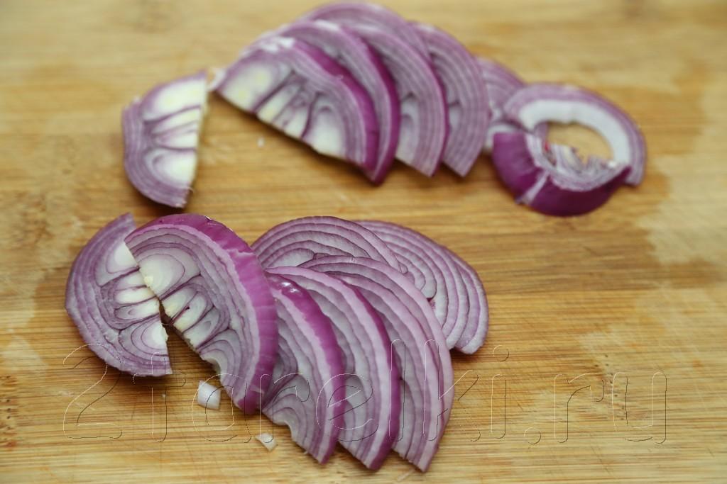 Пикантная овощная закуска-салат для шашлыка 4