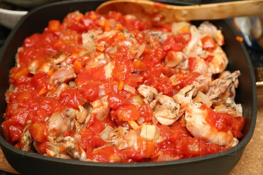 Жаркое из курицы с черносливом по-гречески 11