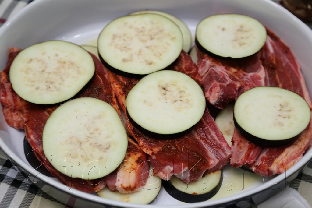 Баранина, запеченная с овощами 8