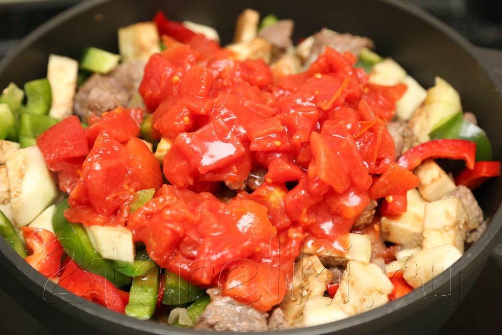 Говядина с овощами по-средиземноморски 10