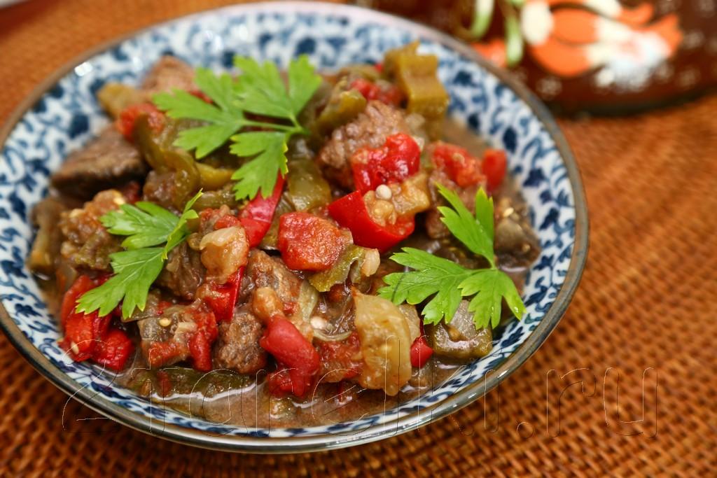 Говядина с овощами по-средиземноморски 14