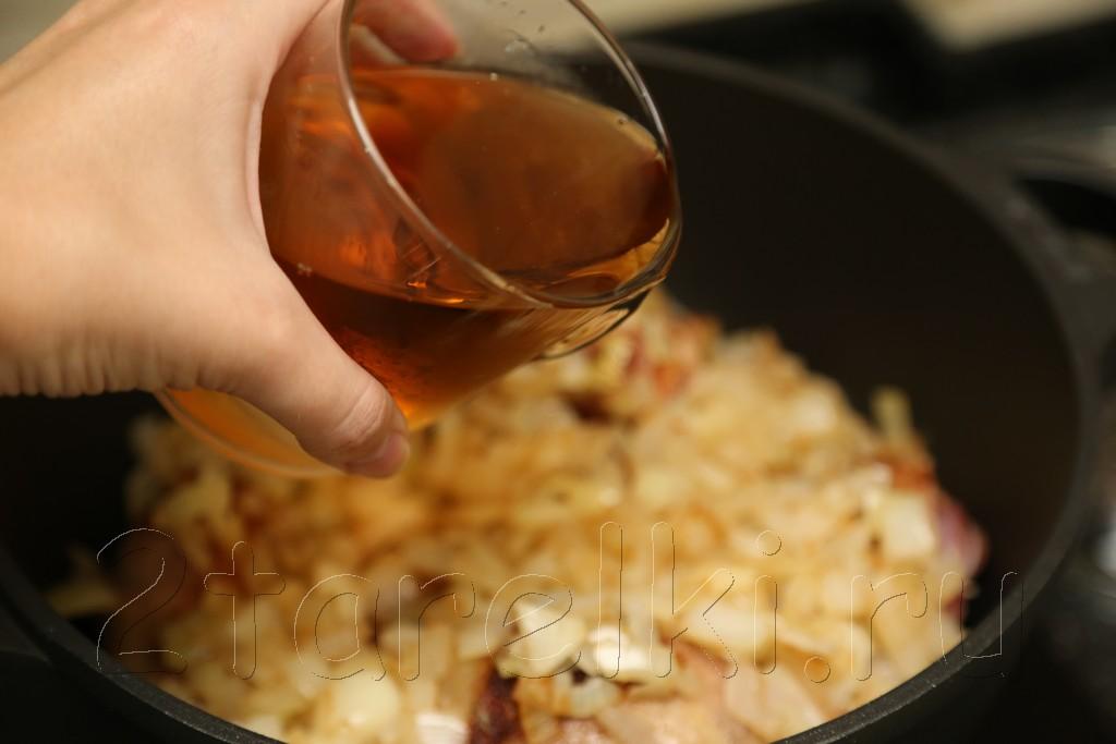 """Курица """"по-сицилийски"""" - с кедровыми орешками в вине 7"""