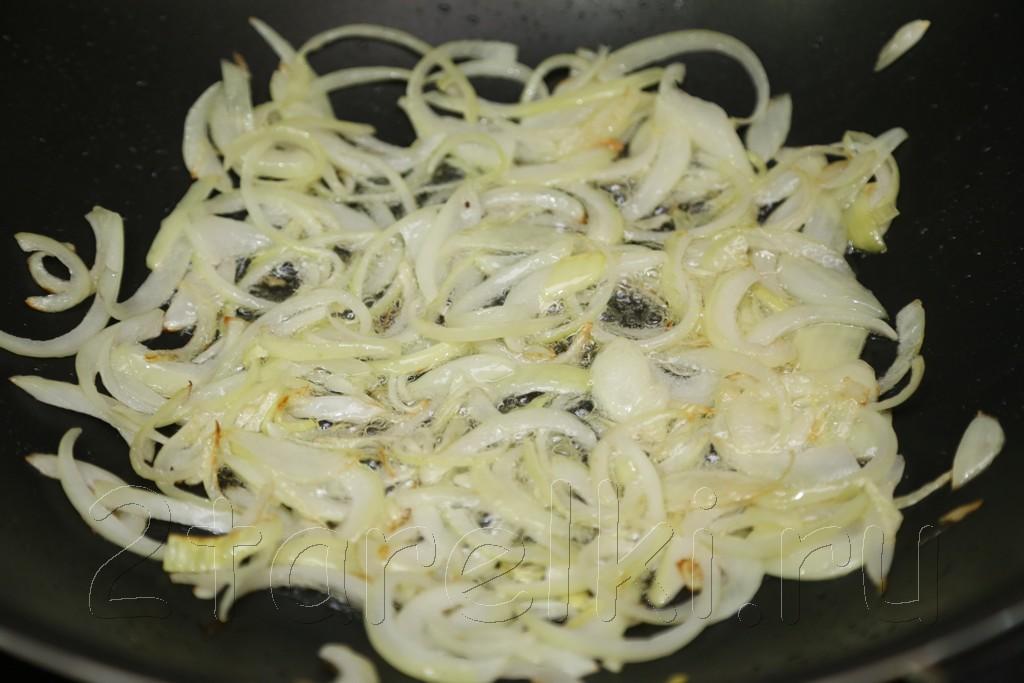 Острый салат с кальмарами по-корейски 8