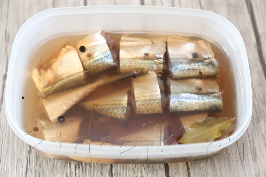 Соленая рыбка Ikan Kembong6