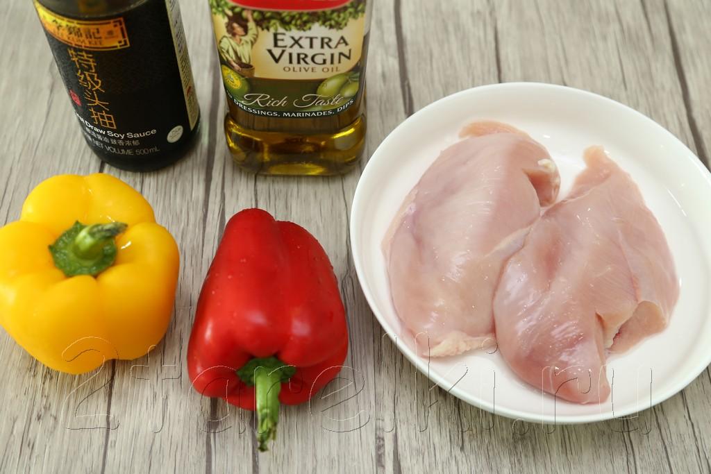 Куриное филе в соевом соусе 1