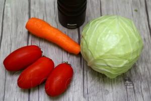 Острый салат из капусты 1