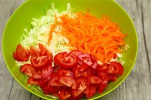 Острый салат из капусты 2