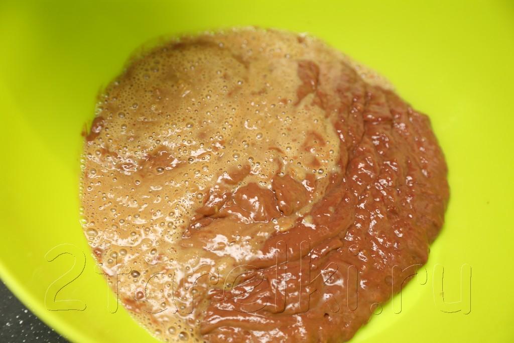 """Печеночный тортик """"Фиалка"""" 2"""