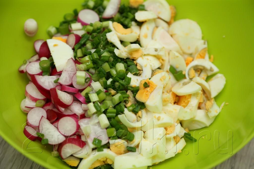 Салат из редиса 2
