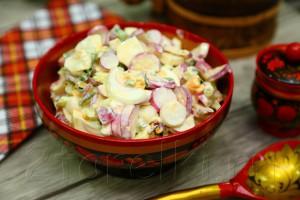 Салат из редиса 3