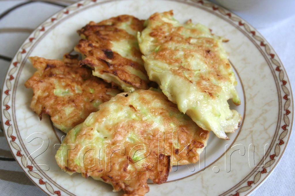 оладушки из кабачков