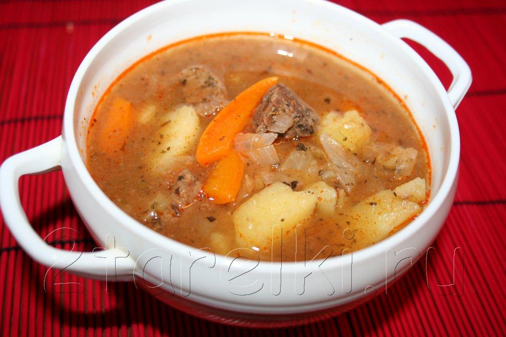 картофельный суп-гуляш