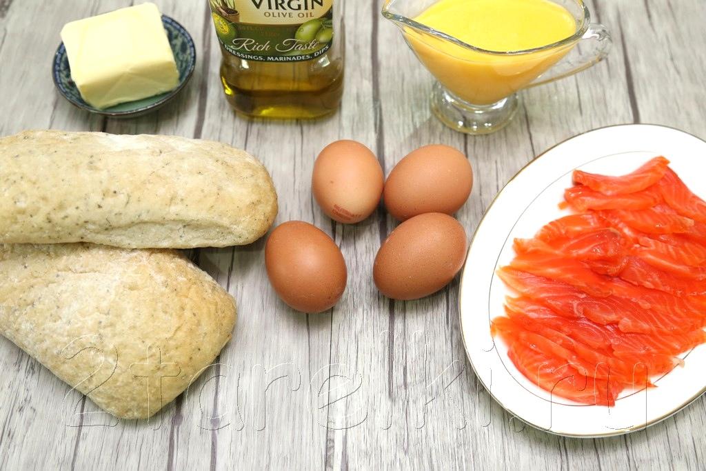 Яйца Бенедикт с семгой 1