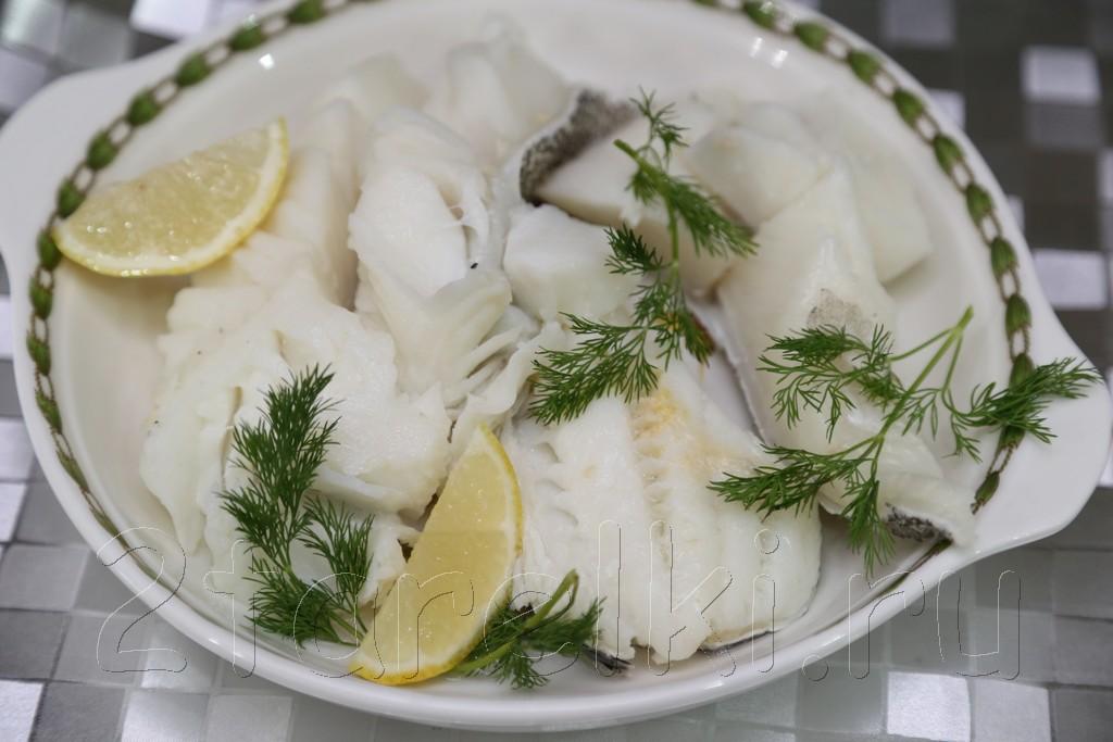 Пряная отварная рыбка 4