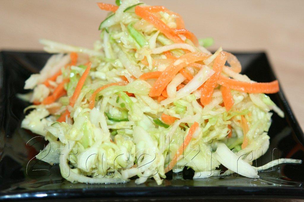 Диета салат капуста с яблоками