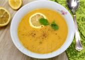 Чечевичный суп с мятой и лимоном