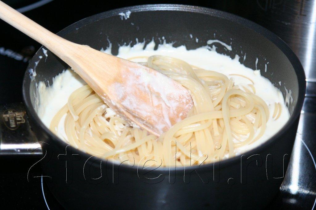 Как сделать сливочно сырный соус с грибами и курицей