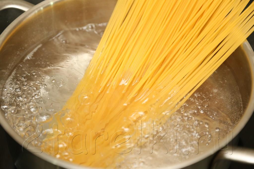 Спагетти с соусом Песто 2