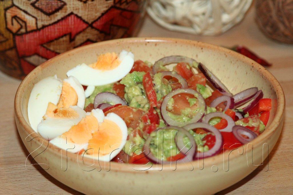 салат с авокадо по-мексикански
