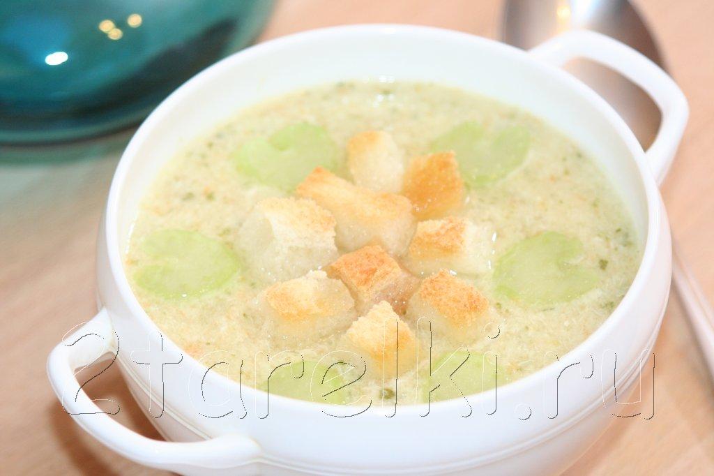 суп-пюре из курицы с овощами