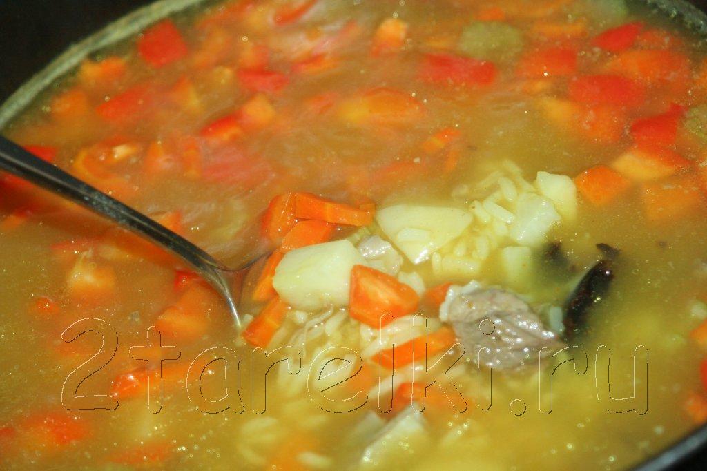 суп из баранины пошаговые рецепты