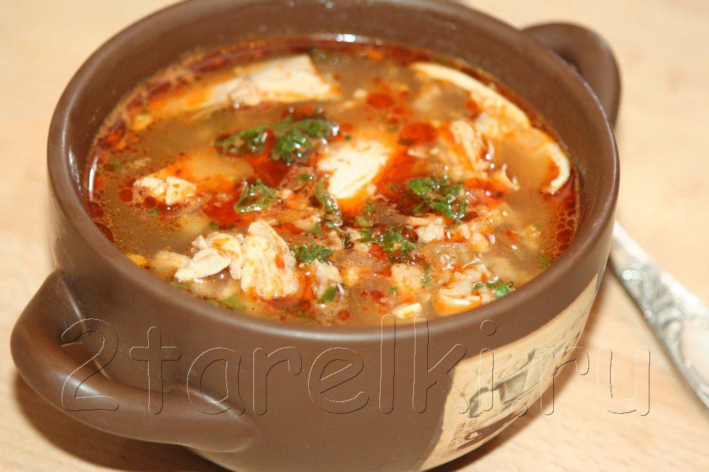 куриный суп по-грузински