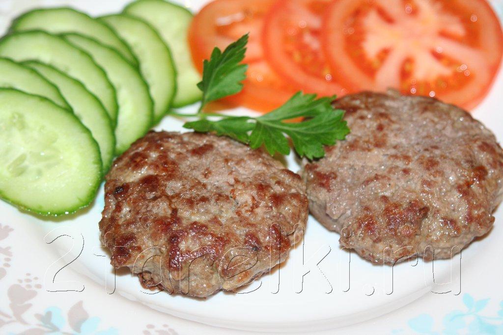 Рубленый бифштекс из говядины рецепт с фото