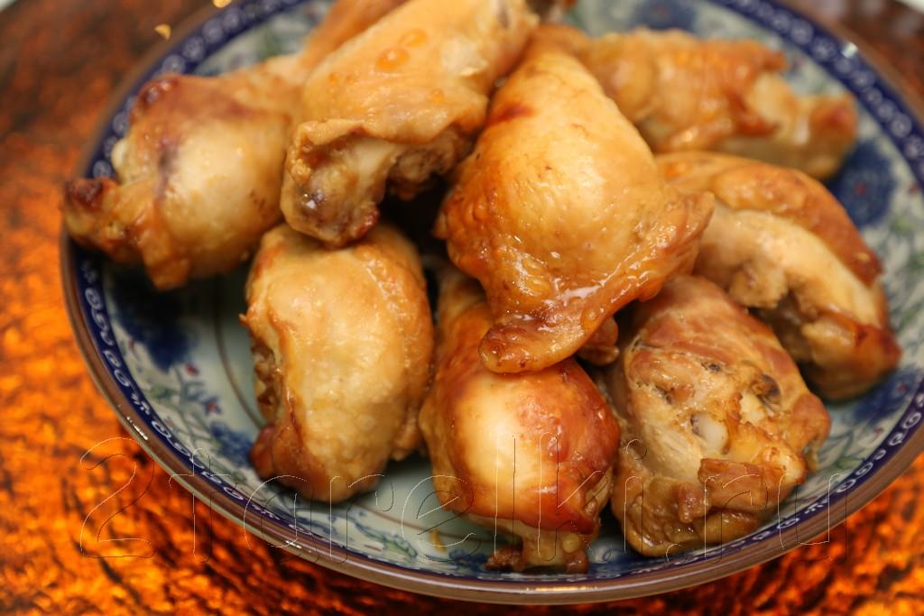 Курица в медово-горчичном маринаде 1