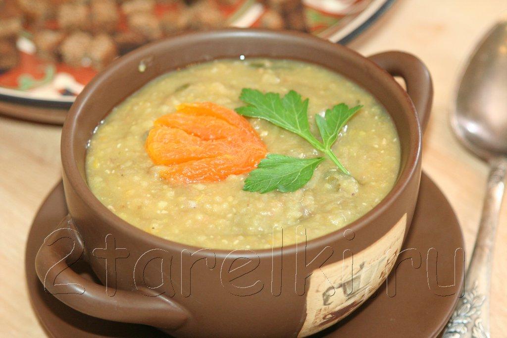 суп-пюре с курагой