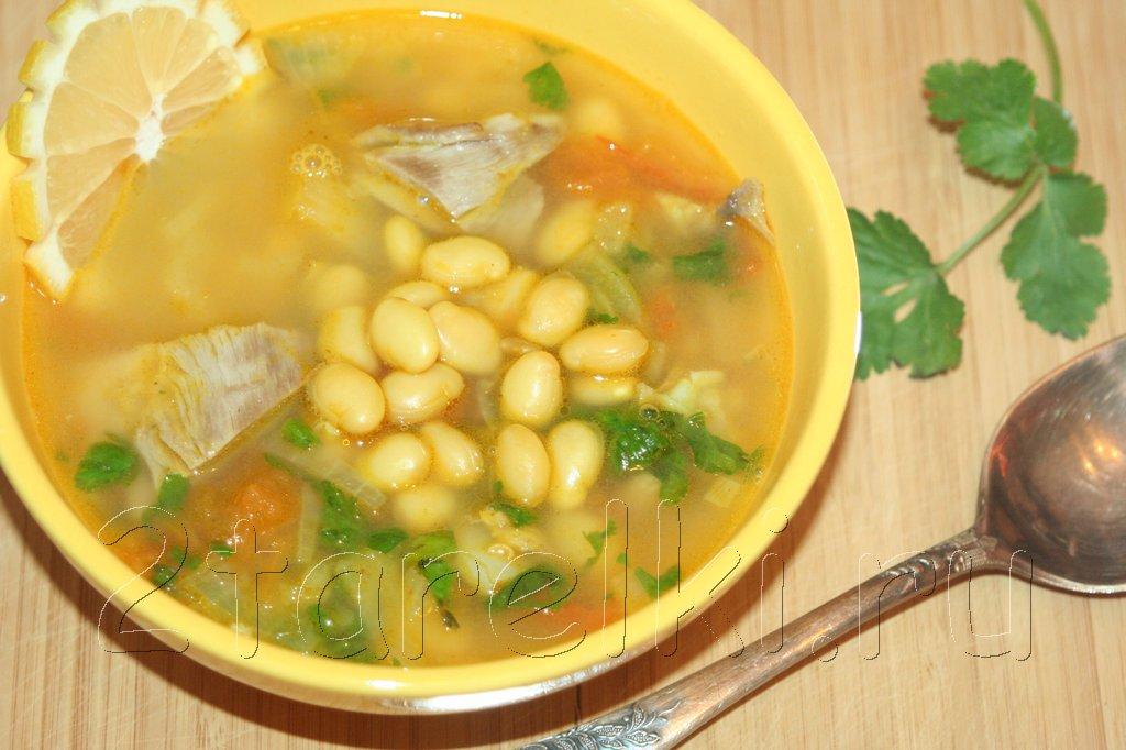 суп из баранины с долихосом