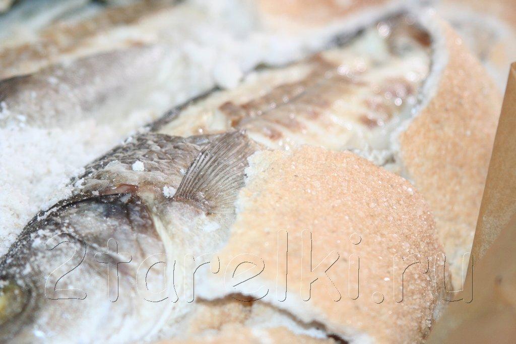 """Рыба под """"солёным одеялом"""""""