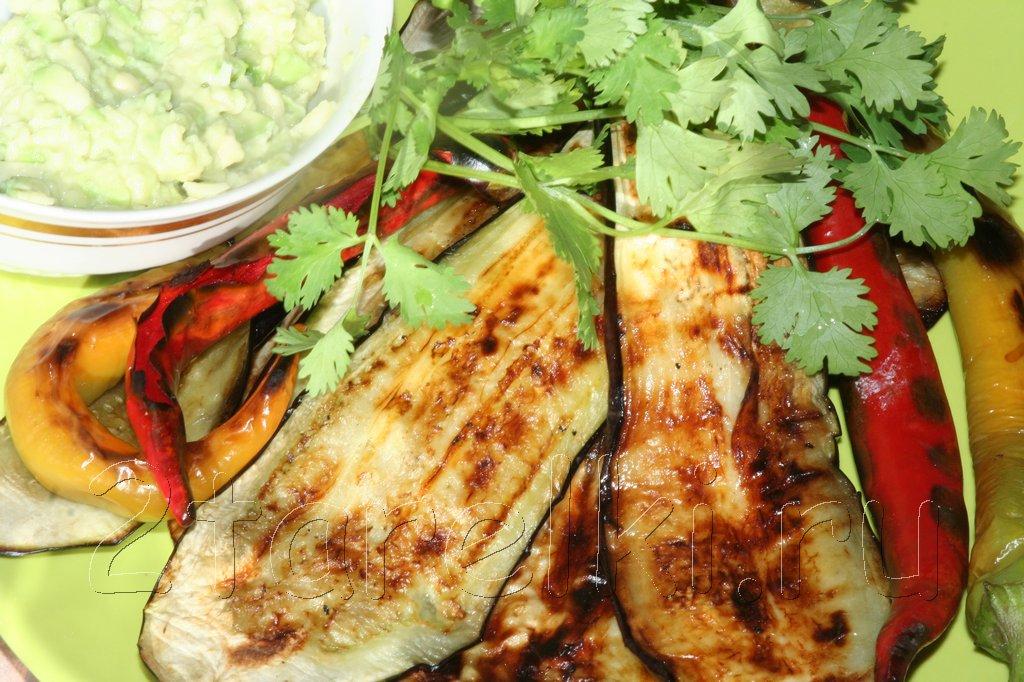 Овощи-гриль по-мексикански