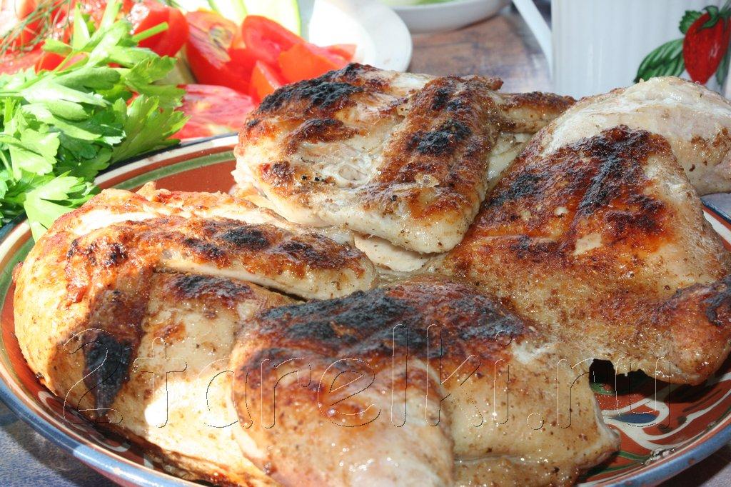 Курица-гриль по-мексикански