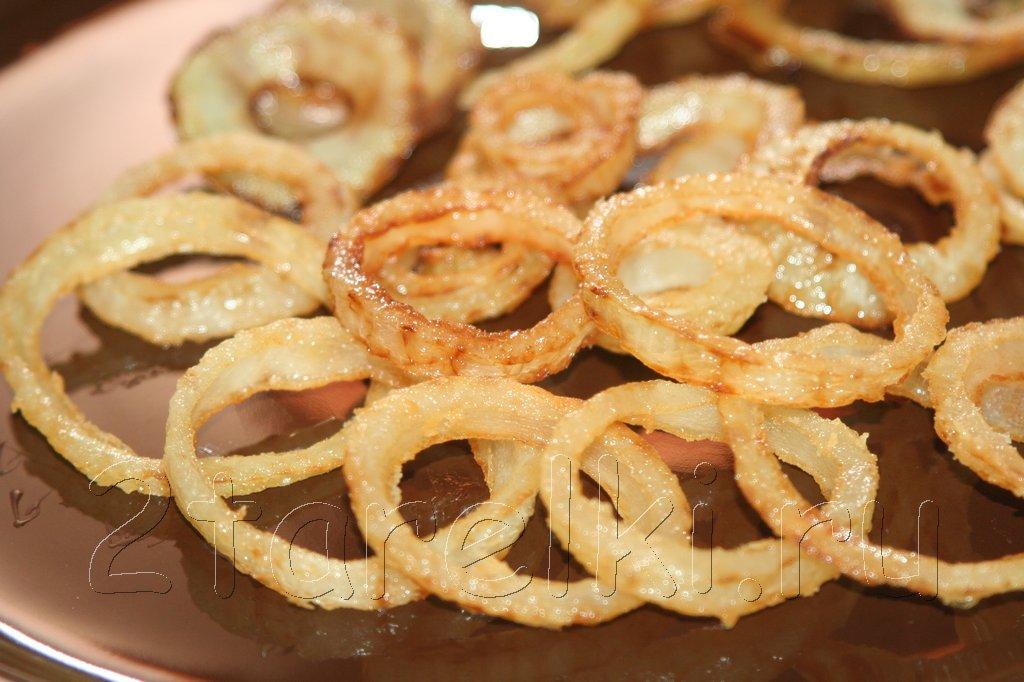 луковые кольца в панировке рецепт с