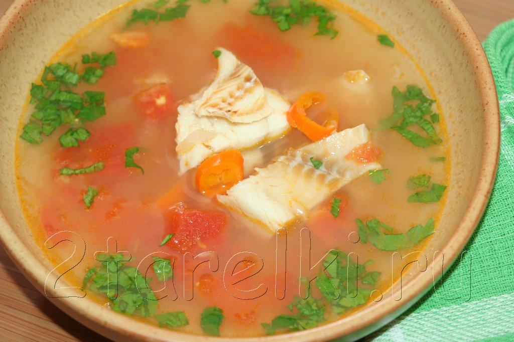 Суп из трески по-мексикански