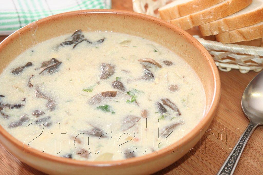 """грибной суп """"Кулайда"""""""