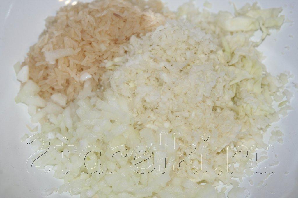 котлеты из риса рецепты с фото простые