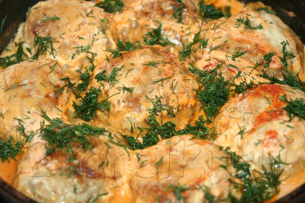 Мясо-овощные тефтельки