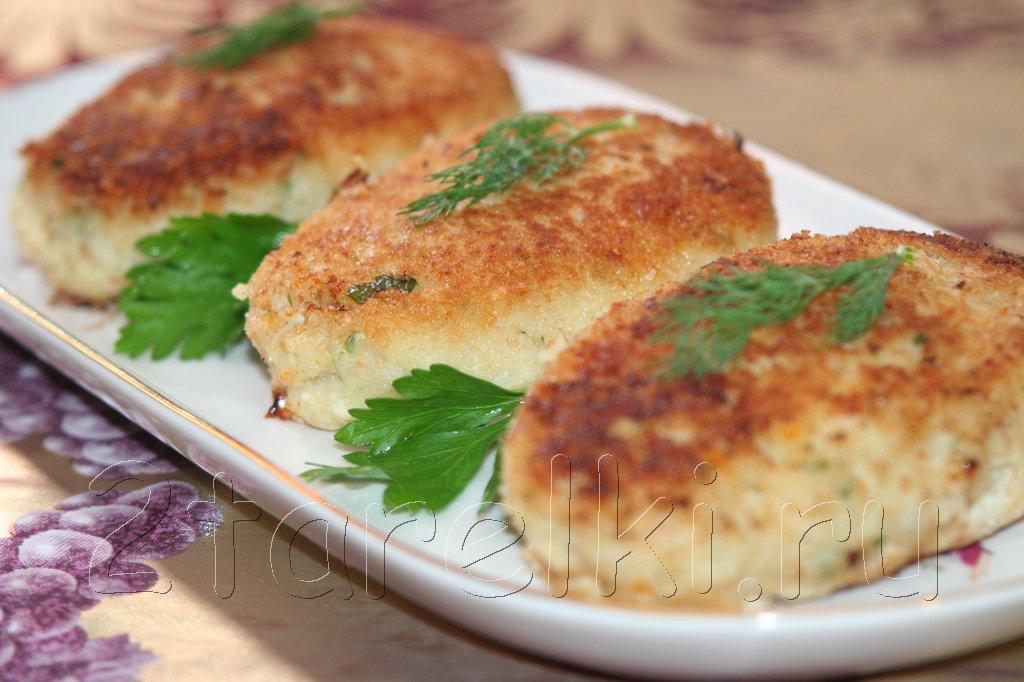Рыбно-овощные котлетки