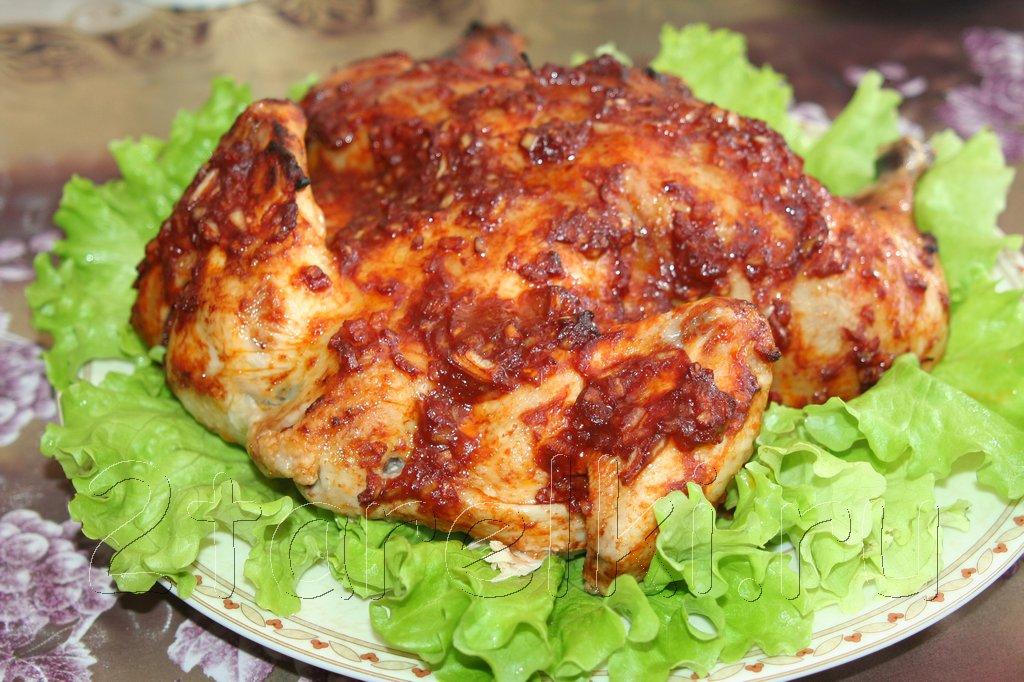 Курица в пикантном соусе