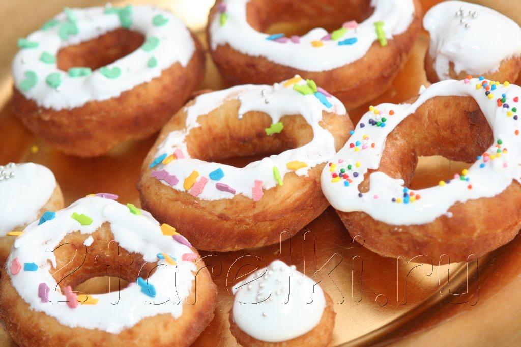 Вкусные пончики и шарики