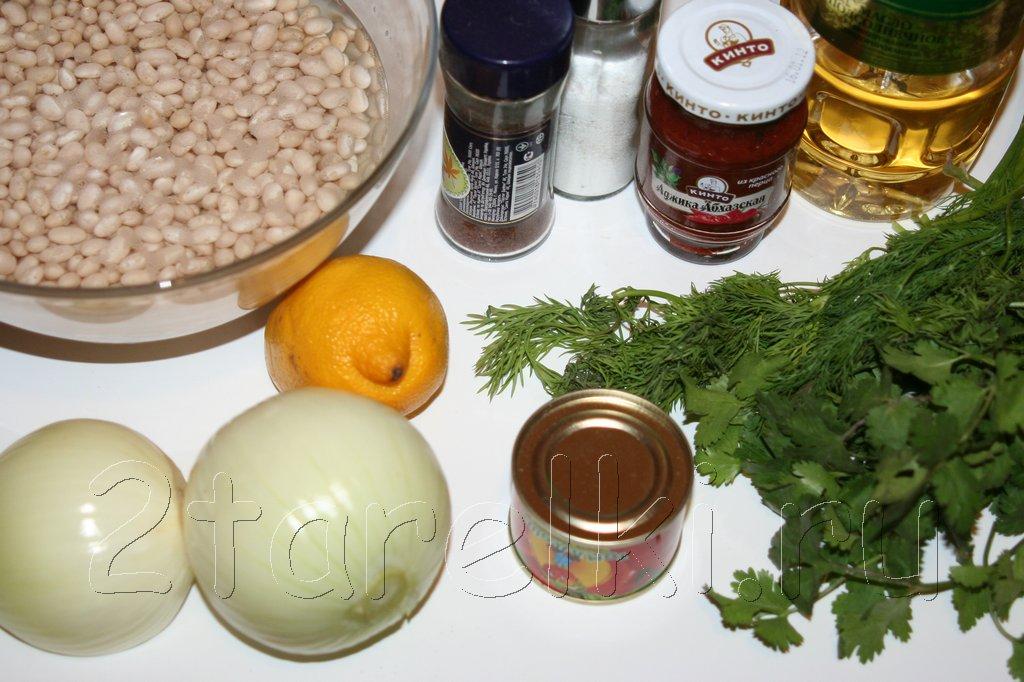 Рецепт супа из готовой фасоли