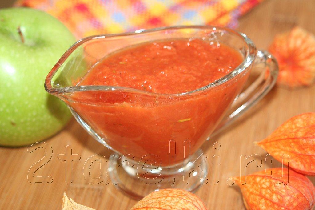 Диетический томатный соус
