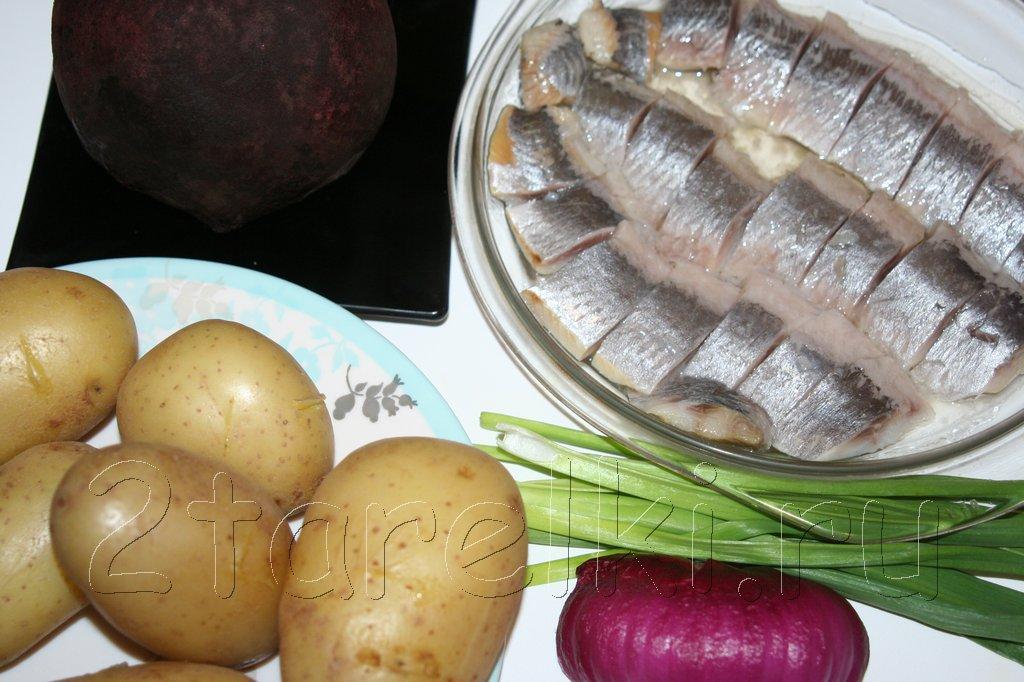 рецепты салатов из сельди со свеклой