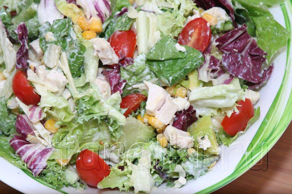 Салат тако рецепт с