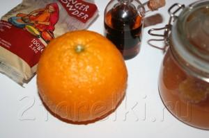IMG 8690 300x199 Рулька в апельсиново имбирной глазури
