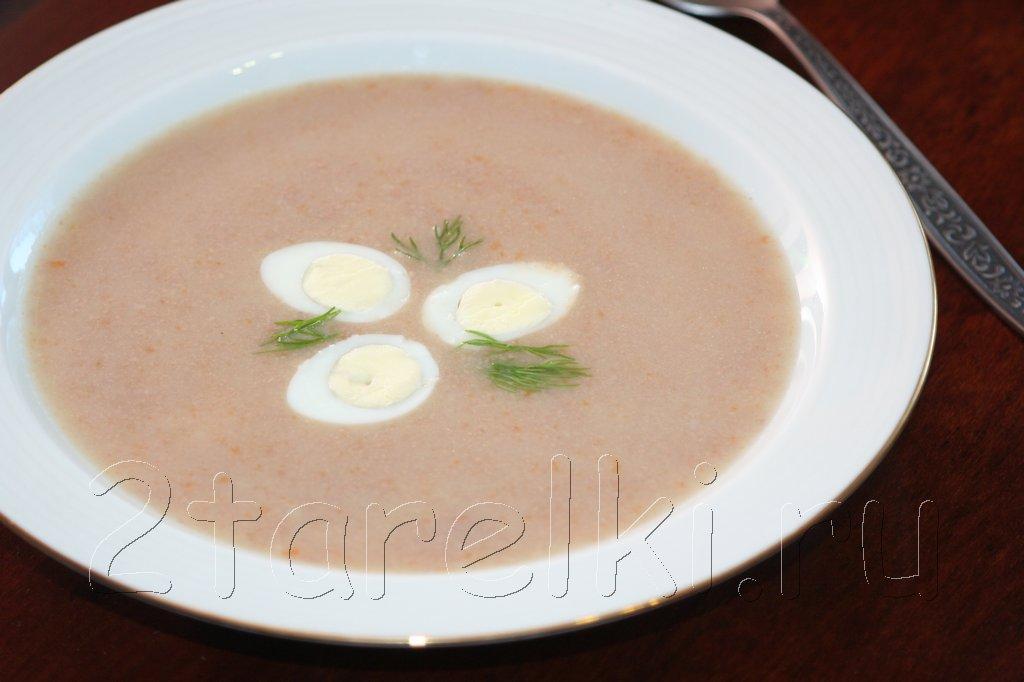 Диетический суп-пюре из говядины