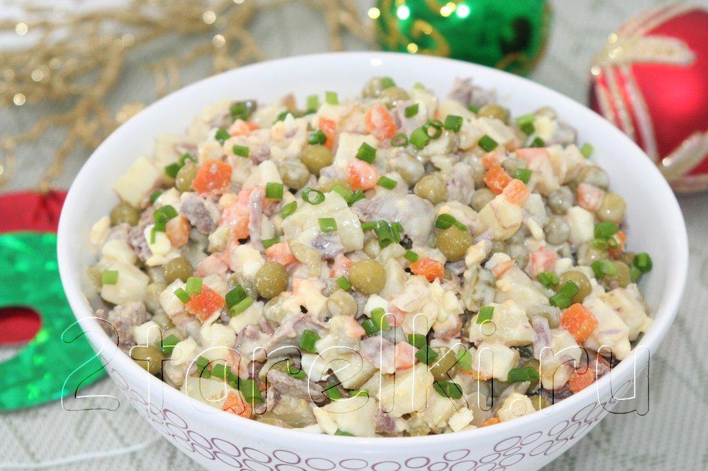 Салат зимний рецепт классический пошаговый рецепт с фото