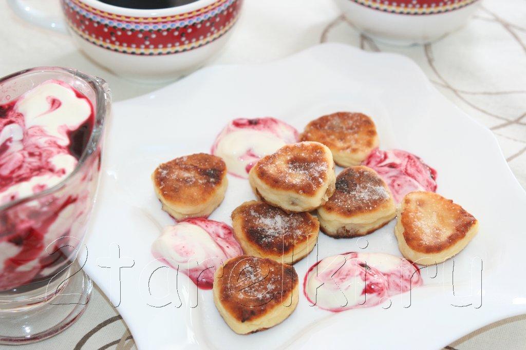 Сырники-сердечки ко Дню Святого Валентина